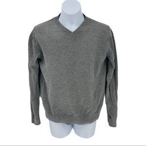 Gap Kids Cotton V-Neck Pullover Sweater Size L